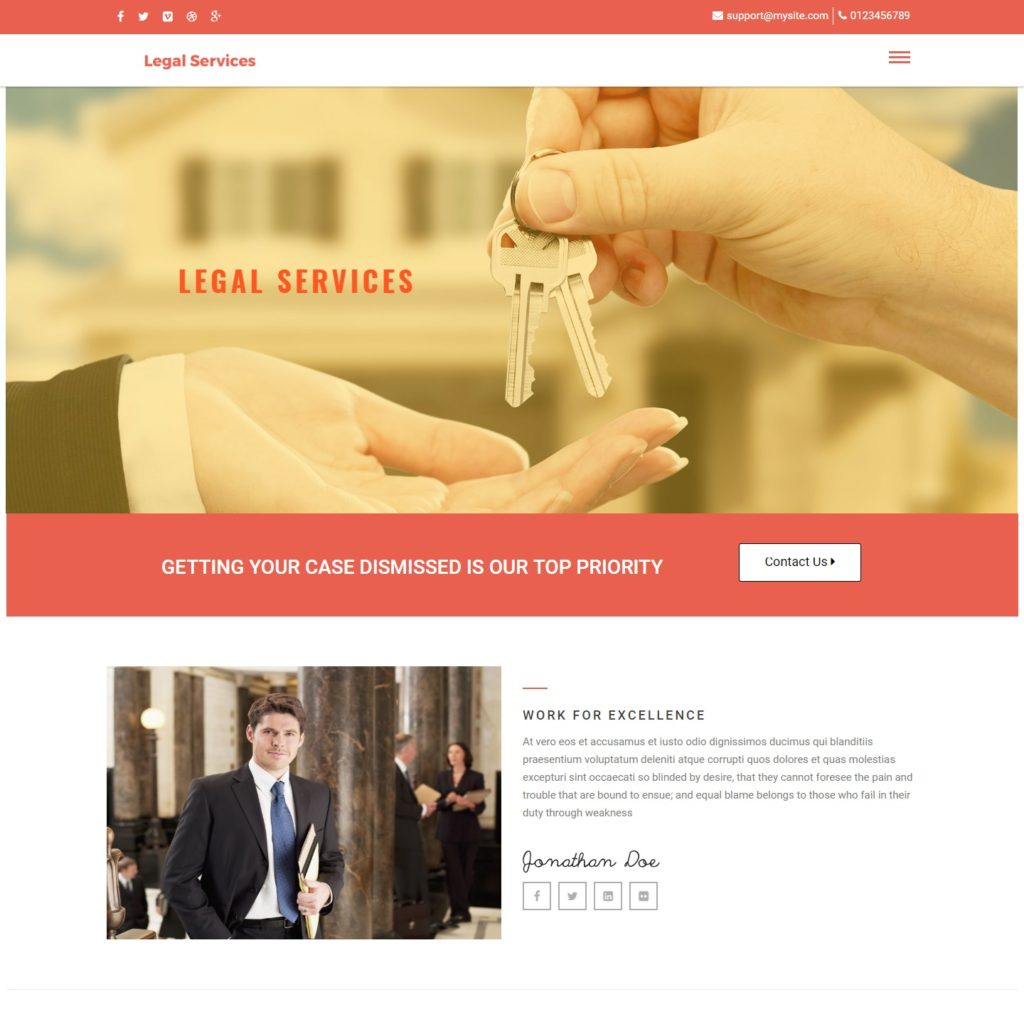 affordable website design for small legal practices